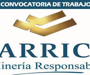 MINERA BARRICK MISQUICHILCA S.A – CONVOCATORIA DE TRABAJO 2018