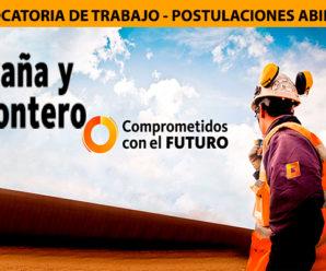 CONVOCATORIA DE TRABAJO GRAÑA Y MONTERO