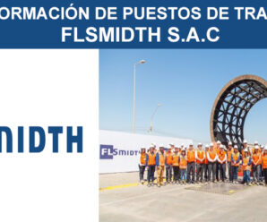 FLSMIDTH S.A.C INFORMACIÓN DE PUESTOS LABORALES