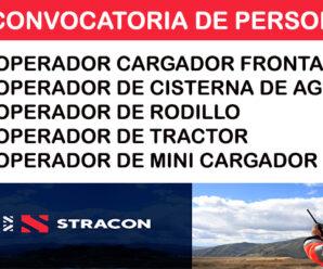 CONVOCATORIA DE TRABAJO EN STRACON