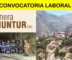 CONVOCATORIA EN MINERA SHUNTUR S.A.C