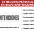 CONVOCATORIA LABORAL EN SALFA MANTENCIONES