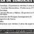 EMPRESA DE SONDAJE DE LA IV REGIÓN BUSCA PERSONAL