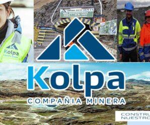 RECLUTAMIENTO DE PERSONAL PARA COMPAÑIA MINERA KOLPA