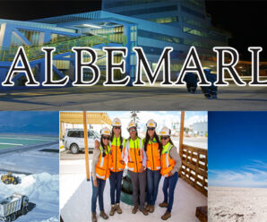 CONVOCATORIA DE TRABAJO EN ALBEMARLE CORPORATION